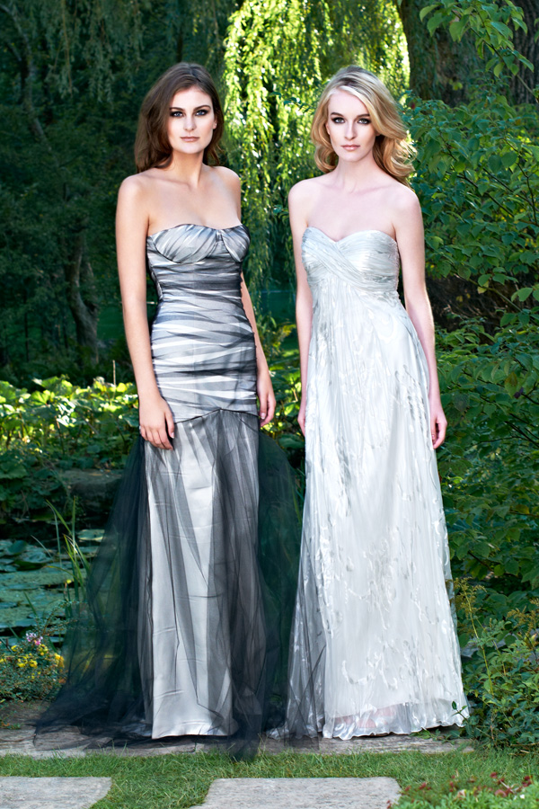 Red carpet sexy chiffon tulle layered gathered pleated underlay made-to-measure prom and wedding dresses